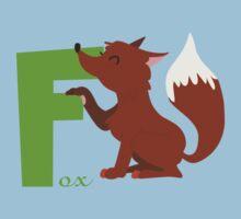 f for fox Kids Tee