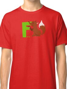 f for fox Classic T-Shirt