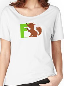 f for fox Women's Relaxed Fit T-Shirt