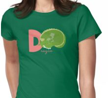 d for dragon Womens Fitted T-Shirt