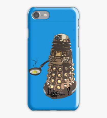 Eg..egg...s...? The Broken Dalek iPhone Case/Skin