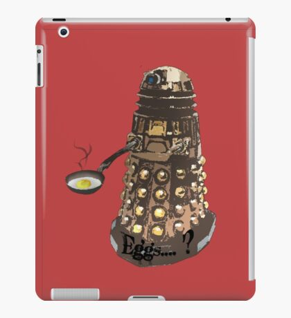Eg..egg...s...? The Broken Dalek iPad Case/Skin