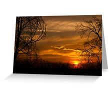 Oh  another  Sunset! Greeting Card