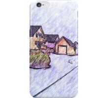 Many houses drawing iPhone Case/Skin