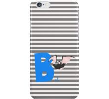 b for bat iPhone Case/Skin