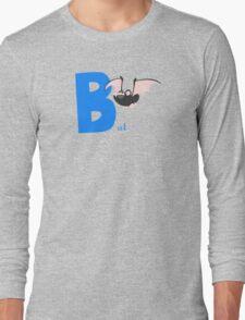 b for bat Long Sleeve T-Shirt
