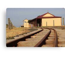 Mini Railroad Canvas Print