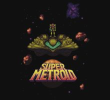 Super Metroid Shirt by SlickVic