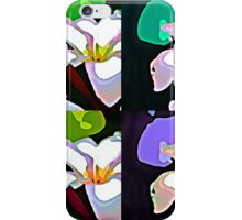 Plumeria- Pop-Art iPhone Case/Skin