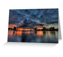Twilight Dreaming - Moods Of A City - The HDR Experience Greeting Card