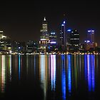 Perth By Night by Stephen Horton
