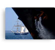 Sail And Anchor 2, Fremantle, Western Australia. Canvas Print