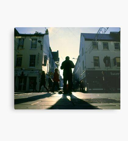 fiddler on marlboro street Metal Print