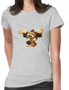 DK Melee Taunt Womens Fitted T-Shirt