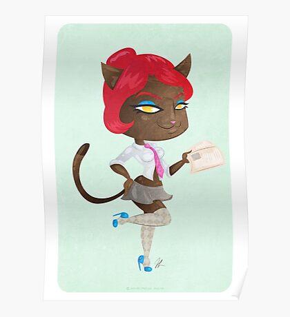 Kitty girl three Poster