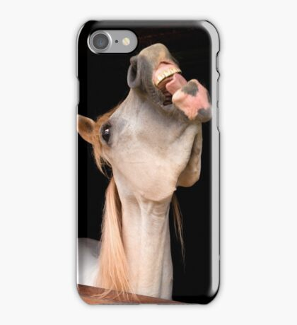Laugh and the world laughs with you iPhone Case/Skin