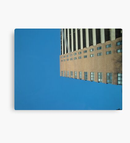 Looking Up Through Sunroof Canvas Print