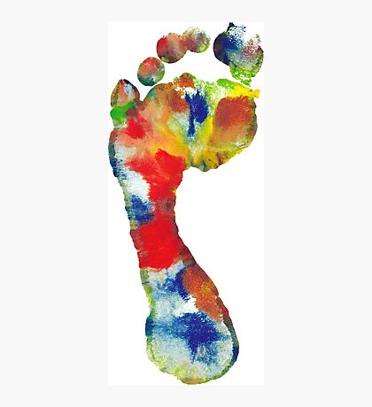 Footprint - Color art Photographic Print
