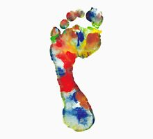 Footprint - Color art Unisex T-Shirt