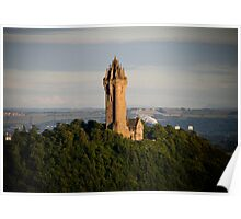 Wallace Monument Stirling Poster