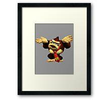 DK Melee Taunt Framed Print