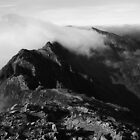 Aonach Eagach Ridge by KarenMcWhirter