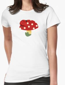 ladybug Womens Fitted T-Shirt