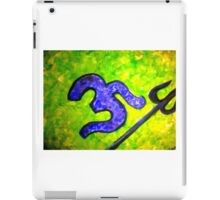 Shiva & His Trishul iPad Case/Skin