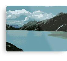 Mighty Mountains of Austria Metal Print