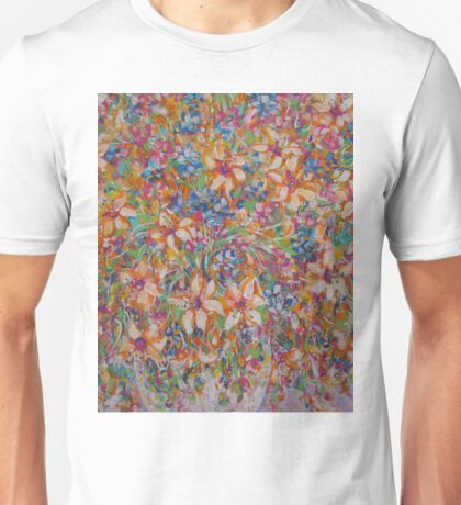 Flower Galaxy Unisex T-Shirt