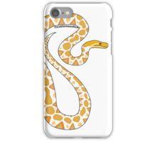 Albino Reticulated Python Art  iPhone Case/Skin