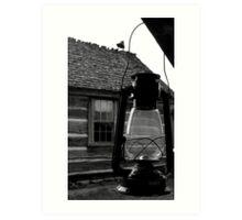 Porch Lantern Art Print
