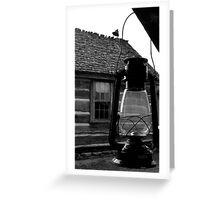 Porch Lantern Greeting Card