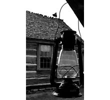 Porch Lantern Photographic Print