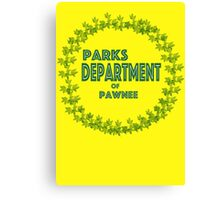 Pawnee Parks and Rec Canvas Print