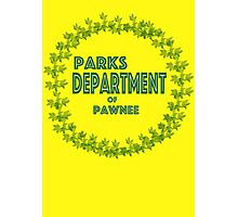Pawnee Parks and Rec Photographic Print