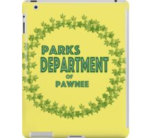Pawnee Parks and Rec iPad Case/Skin