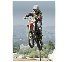 Time for a fresh look; Perris, MX Rider #244 Poster