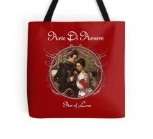 Art of Love in Red Tote Bag
