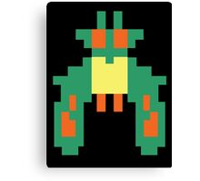 Space Bug Classic 80s Arcade  Canvas Print