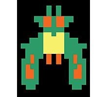 Space Bug Classic 80s Arcade  Photographic Print