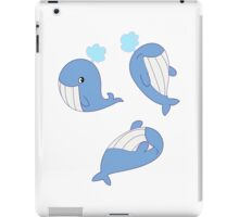 Whales Whales Whales iPad Case/Skin