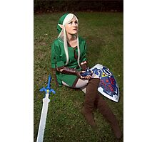Song of Time Link Cosplay Print Photographic Print