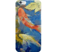 Autumn Koi Garden iPhone Case/Skin