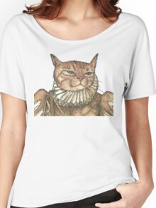 Banjo Cat Face Women's Relaxed Fit T-Shirt