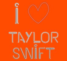 I Love Taylor Swift Kids Clothes