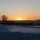 wnter sunsett,stanway,glos by james  lovatt