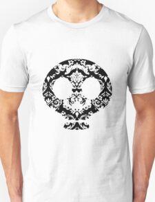 Elegant Damask Skull T-Shirt