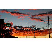 Steakhouse Arizona Sunset by Bradley Blalock Photographic Print