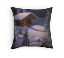 On the Moonlight Throw Pillow